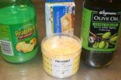 Compound Butter With Citron Falksalt Flakes